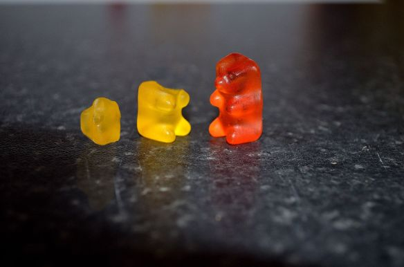 Robin Lehner's Dreams depicted by Gummy Bears. Also, the word Gummy, ladies and gentlemen.