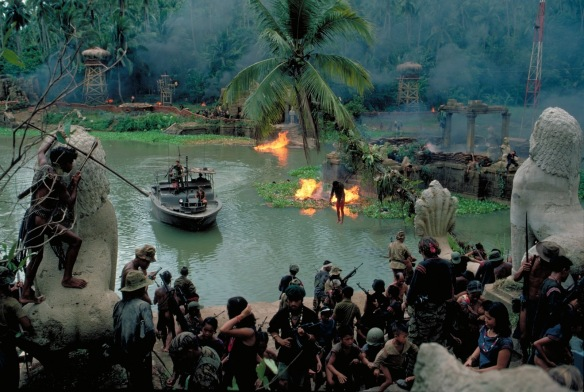 The scene from Robin Lehner's compound as a messenge arrives across the River Styx to give him the news of his start.