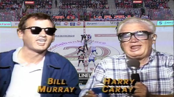 """""""HAAY Bill, The Sens gotta get the BATS goin'...HAAY BILL, if you we're the Habs...and you were made garbage...would you eat yourself?"""""""