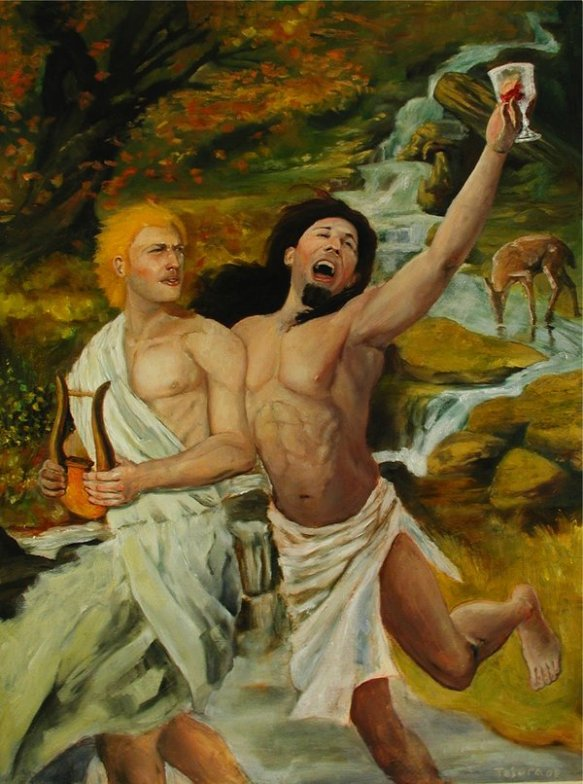apollo_and_dionysus_by_comicgeek86